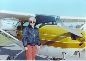 Wisconsin's first deaf pilot, Jean Hauser travels throughout the country for the Deaf Pilots Assoc., volunteering at its annual membership fly-in. She inspires adults and children by visiting schools for the deaf and describing her flight experiences.