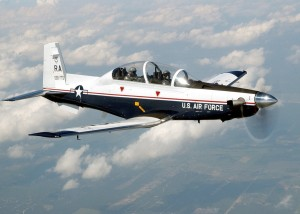 The Air Force has awarded Hawker Beechcraft Corporation two follow-on contracts for an additional 137 T-6A Texan II military trainer aircraft.