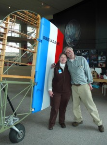 Diane and Bob Dempster are building their own World Cruiser, a replica of the original planes that were the first to be flown around the world.