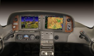 Cirrus Design Corp. and Garmin International Inc. mutually designed the Cirrus Perspective, an upgraded avionics package for its SR22-G3 piston. The Garmin's G1000 synthetic-vision technology is included along with many other design features.
