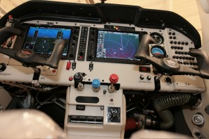 The Garmin G1000 avionics package puts state-of-the-art aviating at your fingertips.