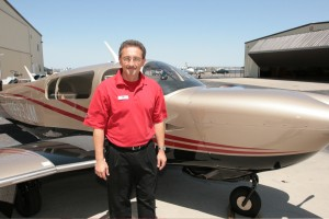Pete Wolak, Mooney vice president of customer service, discussed the benefits of purchasing a new Mooney Acclaim Type S.