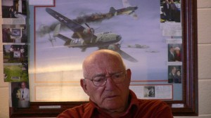 Col. Bill Bower recounted his harrowing adventure as a Doolittle Raider.