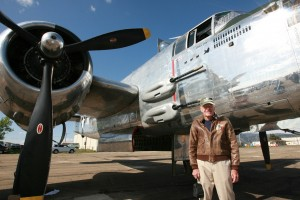 Lt. Lynn Daker was fired upon during 28 of the 36 missions he flew in B-25s in the Pacific theater.