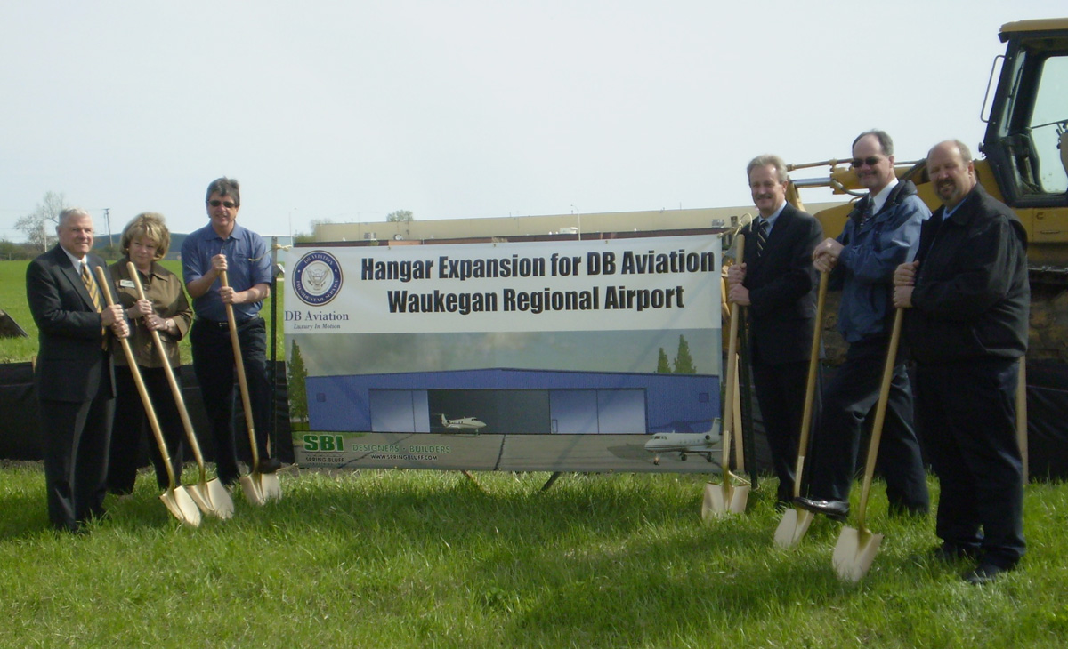 DB Aviation Breaks Ground on 43,000-Square-Foot Hangar Facility
