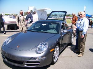 This 2008 Porsche 911 Targa 4S traces its ancestry back to 1965 when the 911 Targa pioneered a new kind of open-air experience for sports car enthusiasts with a unique removable top design capturing the best of both the coupe and the cabriolet.