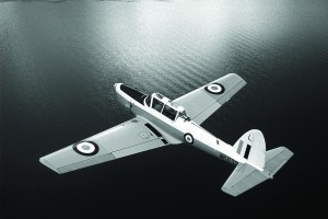 Barry Schiff says the De Havilland DHC-1 Chipmunk, with its tapered wing and narrow, sleek fuselage, looks more like a petite WWII fighter than the military trainer it was. According to Schiff, 350 airworthy Chipmunks remain.