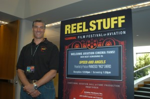 "Producer Francesco ""Paco"" Chierici was on hand to present ""Speed and Angels,"" a 2007 documentary."