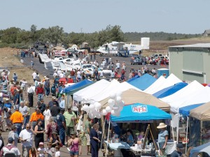 The crowds had much to do at the Payson 2008 Aero Fair.