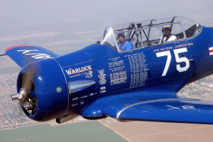 Al Goss, piloting his T-6, Warlock, was the 2004 Reno T-6 champion and has more top-three finishes than any other pilot, regardless of class.