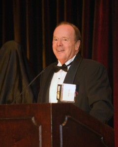Foundation Chairman John King welcomed guests at the 2008 Lindbergh Award Celebration.