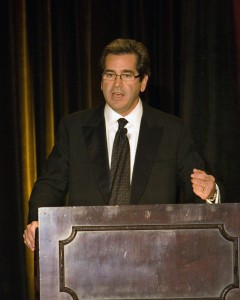 Miles O'Brien, CNN correspondent, foundation director and pilot, served as master of ceremonies.
