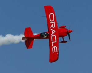 "According to Sean Tucker, the Oracle Challenger is a collaboration of some great designers and builders, but he gets his input as a flyer. ""The goal was to have this biplane have just as much performance as the new state-of-the-art monoplanes,"" he said."