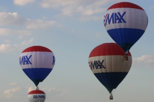 Principal event sponsor RE/MAX sent three its six Texas-based balloons to the Summer Balloon Classic. The realty company sponsors more than 100 balloons in 70 countries worldwide.