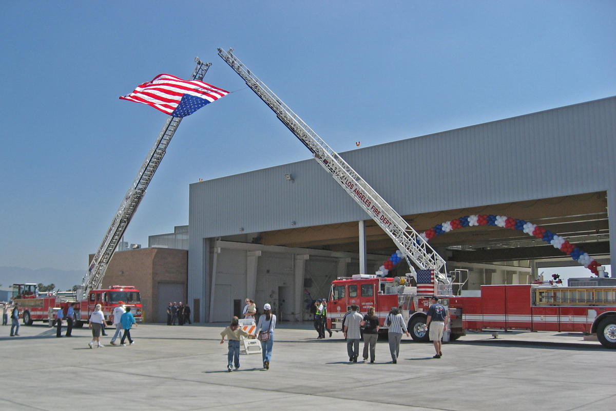 Van Nuys Grand Opening Ceremony: New Air Operations, Air Support and Helicopter Maintenance Facility