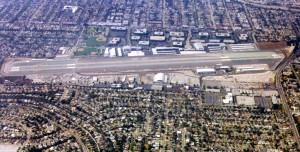 Modern Santa Monica shows land development crushing the airport on all sides. If the airport closes, more housing is a certainty.