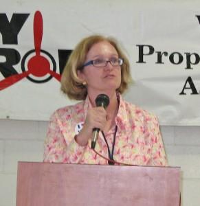 Selena Birk, Van Nuys Airport manager, presented RFP details.