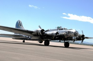 The Sentimental Journey takes off toward Boulder.