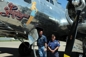 Crewmembers including Mike Pemberton (left) and Chuck Youngbeck rotate throughout the season.