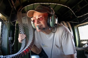 Ray Snyder is part of the regular crew. At age 84, he has many years of experience aboard WWII warbirds.