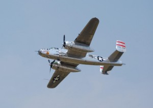Sponsored by the Disabled American Veterans Air Show Outreach Program, Panchito gave a 20-minute demonstration of World War II low-level bombing.