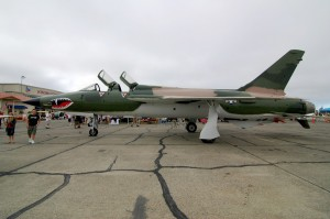 This F-105 is the latest restoration by the Pacific Coast Air Museum.