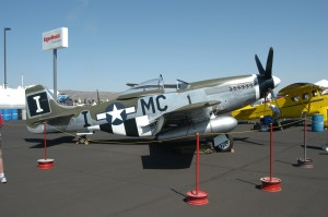 The 2008 Grand Champion and recipient of the Rolls-Royce Aviation Heritage Trophy is a 1944 P-51D Mustang owned by FTR ESC LLC of San Antonio, Texas, and restored by Midwest Aero Restorations Ltd.