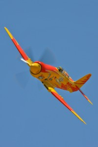 Dan Vance, flying Michael Brown's Hawker Sea Fury, September Pops, won Sunday's Unlimited Silver race.