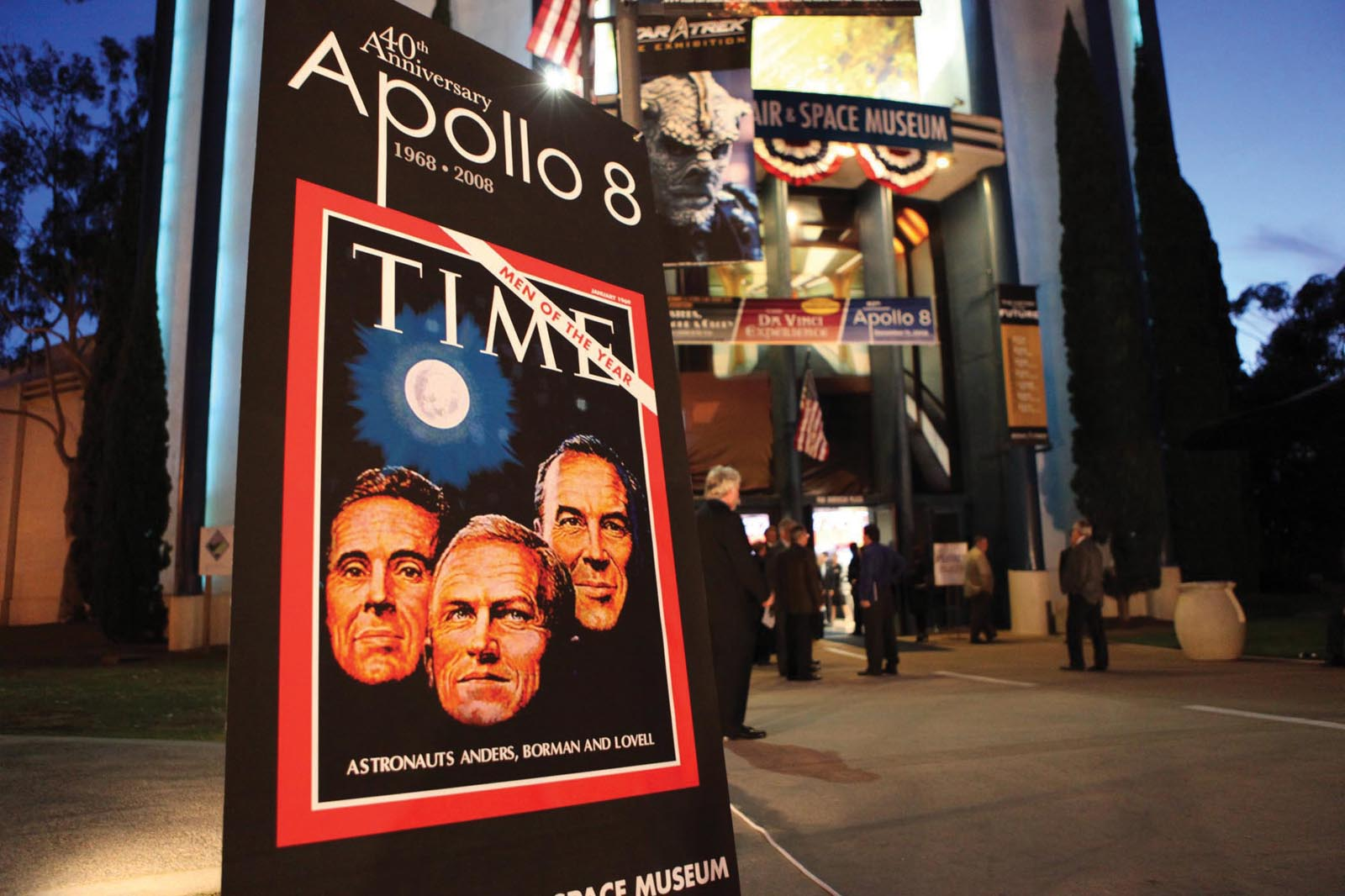 The 40th Anniversary of Apollo 8