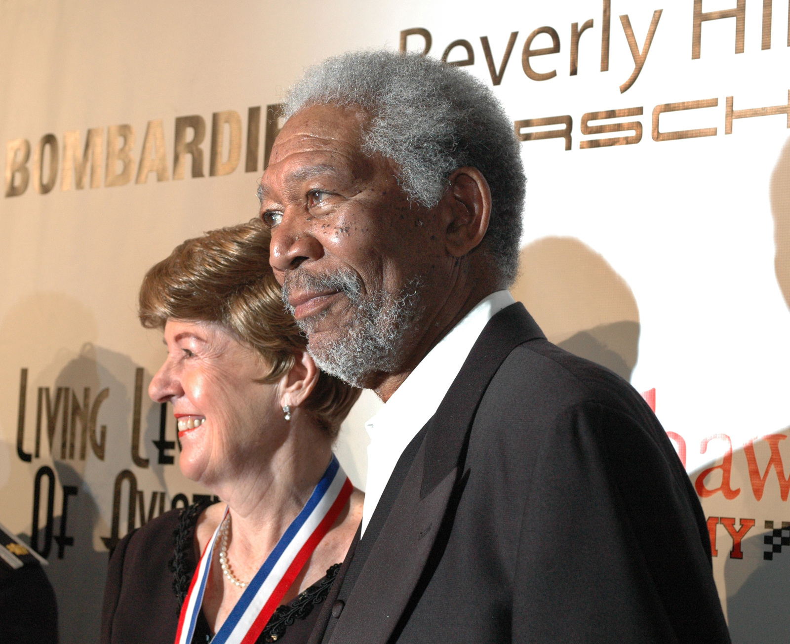 """Flown West Tribute"" By Morgan Freeman 2013"