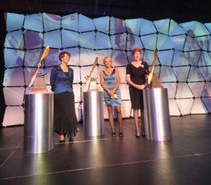 The special evening honored First Ladies Eileen Collins, Patty Wagstaff and Emily Howell Warner.