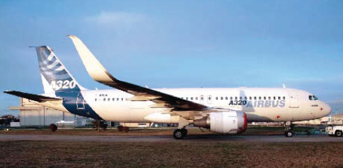 Aviation Partners and Airbus Test Fly Blended Winglets on the A320