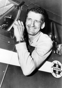 One of Swearingen's more challenging tasks was modifying the Piper aircraft flown by record-breaking long-distance pilot Max Conrad, which required substantial changes necessary for the pilot's prolonged flights.