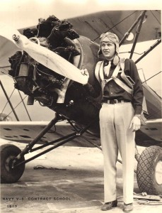 At the age of 18, Ed Mehlin became the youngest flight instructor in the Civilian Pilot's Training program. He taught primary students in Army Air Corp and Navy contract schools in Denver and Boulder.