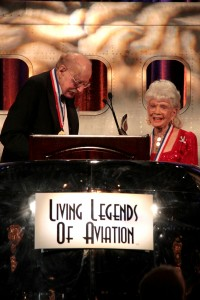 Zoe Dell was honored in 2009 at the 6th annual Living Legends of Aviation ceremony with the prestigious Bob Hoover Freedom of Flight Award.