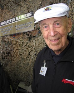 Lt. Col. Richard E. Cole (Ret), Jimmy Doolittle's co-pilot on the Doolittle Raid.