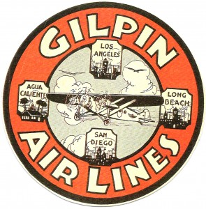 Gilpin Airlines logo