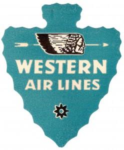 Western Air Lines logo