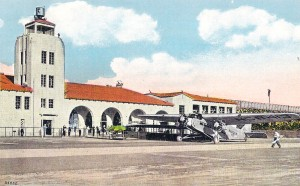 The newly constructed, modern terminal facility opened on Feb. 22, 1929.