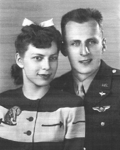 Ernest E. Bankey and Lillian Ruth Kontak (Ginny) were married on May 2,1942 at Bowling green, Ohio. Although Ginny had purchased a white wedding dress for her wedding, they eloped while on a trip to Bowling Green.