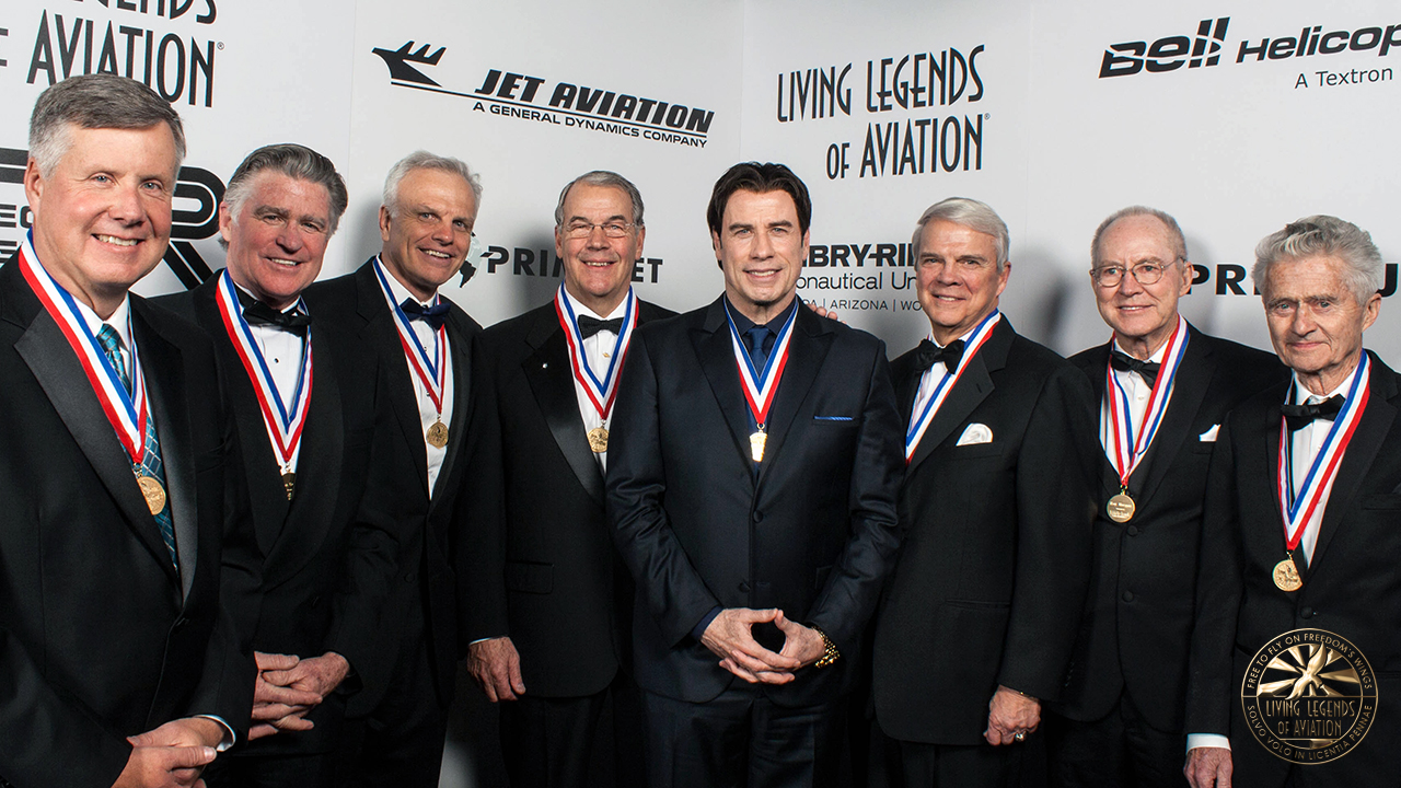 11th Annual Living Legends of Aviation Inductees