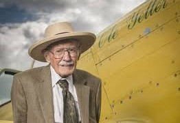 Aviation Legend Bob Hoover Honored With Wright Brothers Memorial Trophy