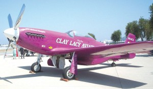 Clay Lacy's Custom P-51 Mustang.