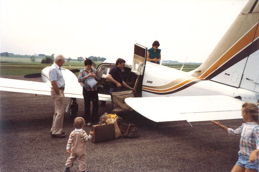 My first aircraft, a 1978 Seneca II. Turbo charged and especially suited for Colorado Mountain flying