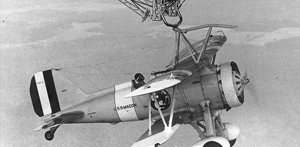 USS Macon and Sparrowhawks